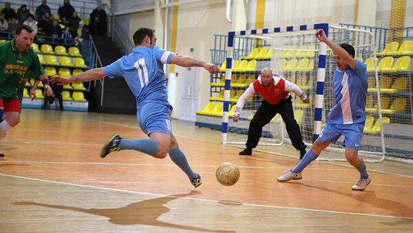 Чэмпіянат па міні-футболе сярод ксяндзоў - Sputnik Беларусь