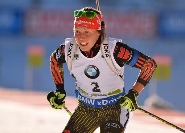 Лаура Дальмайер (Германия) в гонке преследования среди женщин - Sputnik Беларусь