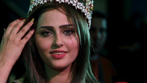 Победительница конкурса красоты в Ираке Шайма Касим - Sputnik Беларусь