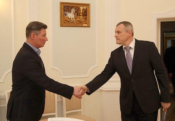 Андрей Ковалев и Игорь Шуневич - Sputnik Беларусь