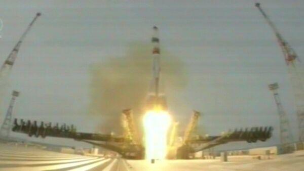 Спутник_Запуск к МКС первого транспортного корабля новой серии Прогресс МС - Sputnik Беларусь