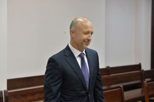 Муж теледивы Андрей Геращенко в суде - Sputnik Беларусь