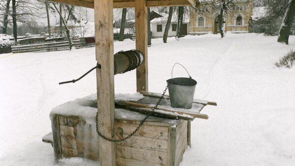 Колодец зимой - Sputnik Беларусь