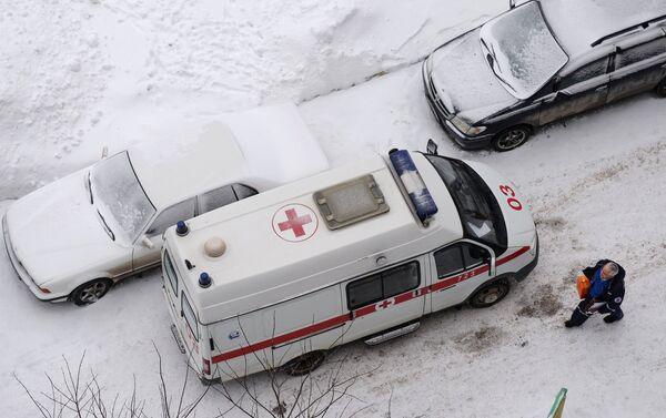 Машина скорой медицинской помощи - Sputnik Беларусь