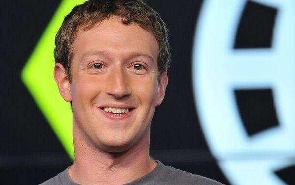 Основатель Facebook М.Цукерберг - Sputnik Беларусь