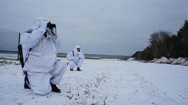 Пограничники Гомельской пограничной группы - Sputnik Беларусь