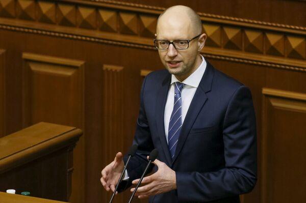 Украинский премьер-министр Яценюк - Sputnik Беларусь