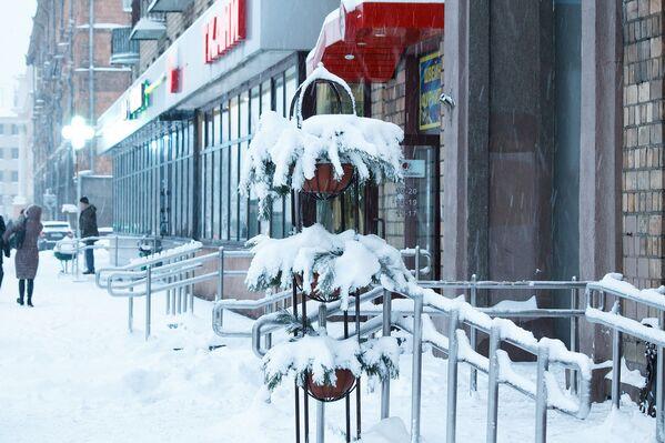 Снегапад у Мінску - Sputnik Беларусь