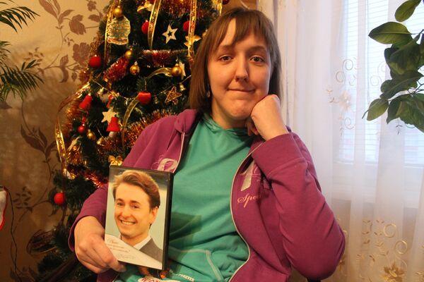 Аня Левкович из Бреста с поздравлением от Сергея Берукова - Sputnik Беларусь