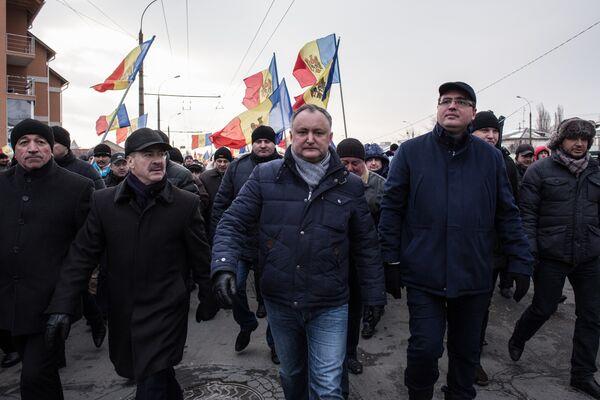Протестные акции оппозиции в Кишиневе - Sputnik Беларусь
