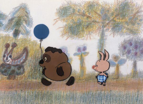 Кадр з мультфільма Віні-пух - Sputnik Беларусь