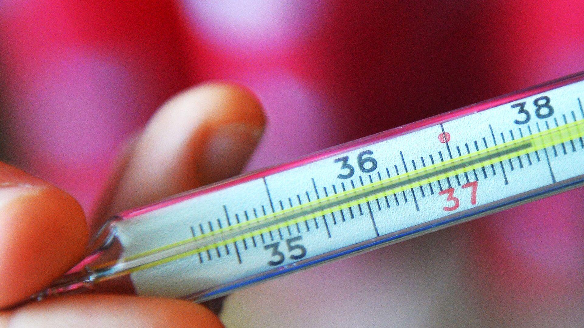 Ртутный градусник для измерения температуры - Sputnik Беларусь, 1920, 21.09.2021