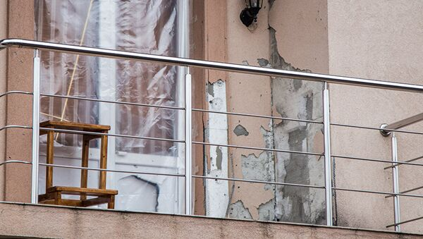 Балкон дома главы Нацбанка Молдовы Дорина Дрэгуцану - Sputnik Беларусь