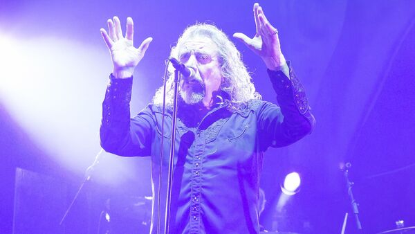 Вакаліст Led Zeppelin Роберт Плант - Sputnik Беларусь