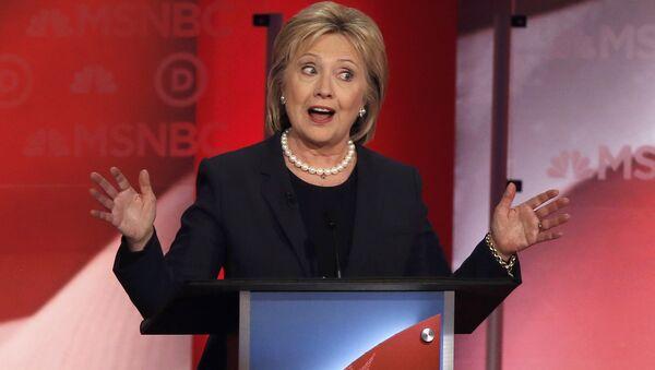 Теледебаты с участием Хиллари Клинтон - Sputnik Беларусь