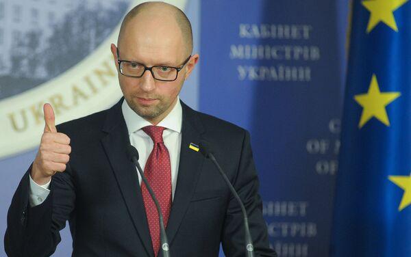 Премьер-министр Украины Арсений Яценюк - Sputnik Беларусь