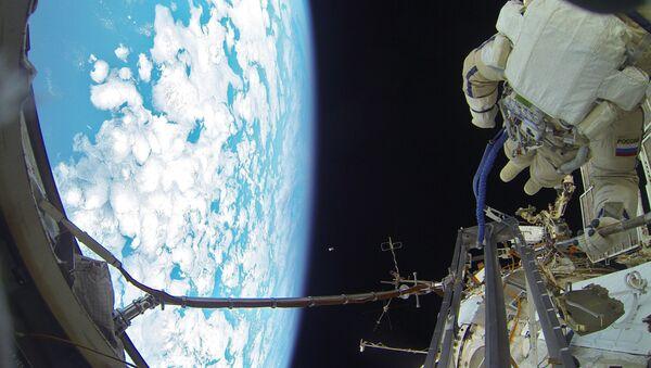 Выхад у адкрыты космас расійскіх касманаўтаў - Sputnik Беларусь