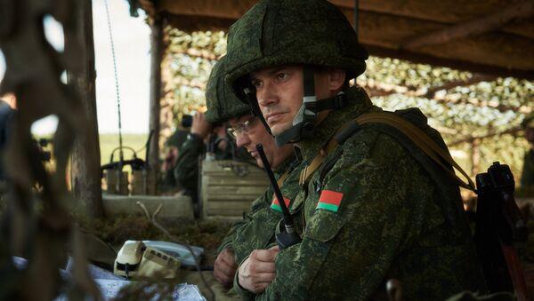 Расійска-беларускія вучэнні Шчыт Саюза - Sputnik Беларусь