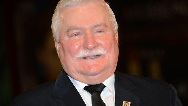 Экс-президент Польши Лех Валенса - Sputnik Беларусь