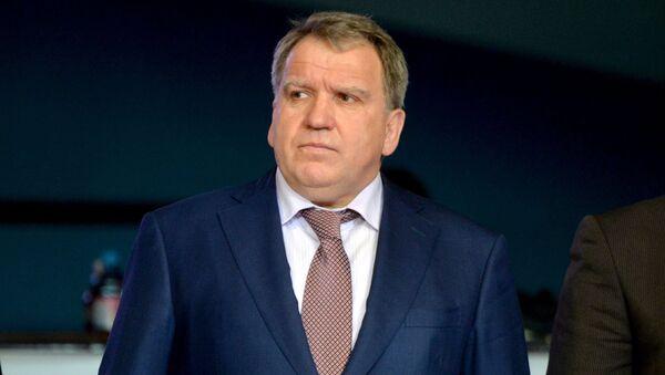 Глава Федерации борьбы Беларуси Юрий Чиж - Sputnik Беларусь