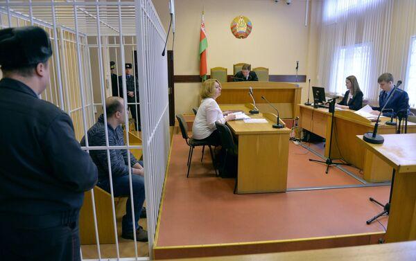 Суд над актером Купаловского театра Бородичем - Sputnik Беларусь