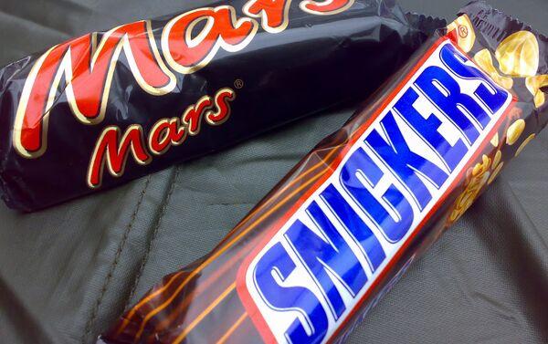 Шакаладкі Mars іSnickers - Sputnik Беларусь
