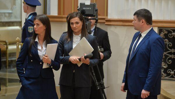 Эйсмант распавяла, пра што Лукашэнка размаўляў з сілавікамі  - Sputnik Беларусь