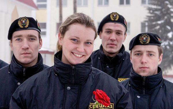 Супрацоўнікі спецназа - Sputnik Беларусь
