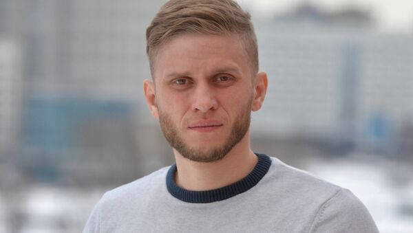 Максим Костьян - Sputnik Беларусь