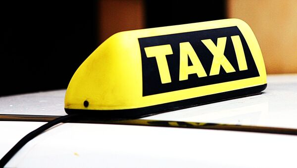 Автомобиль такси, архивное фото - Sputnik Беларусь