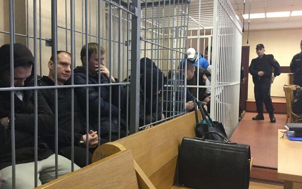Обвиняемые по делу по наркоторговле - Sputnik Беларусь