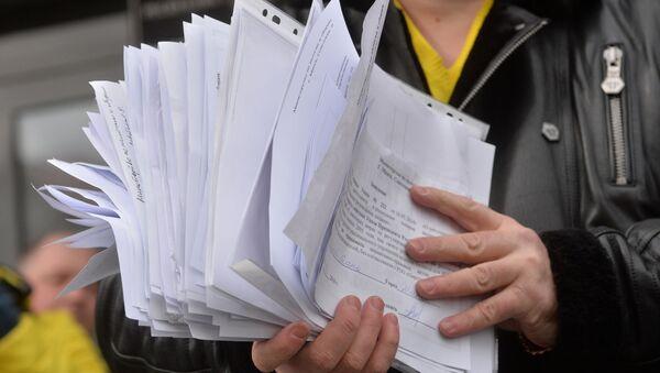 Документы в руках - Sputnik Беларусь