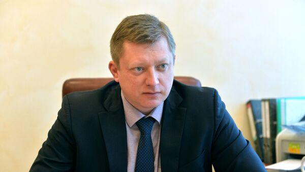 Директор Национального антидопингового агентства Беларуси Денис Мужжухин - Sputnik Беларусь