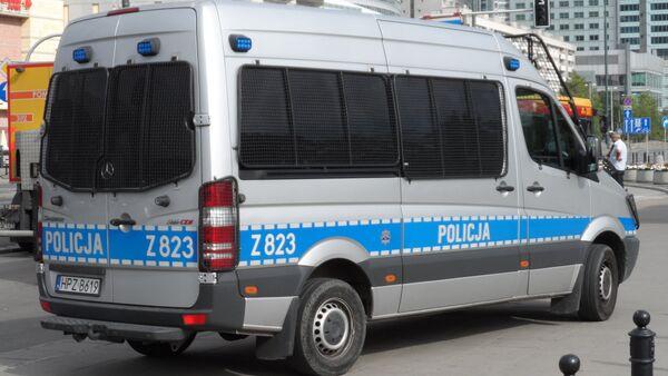 Автомобиль польской полиции. Архивное фото - Sputnik Беларусь