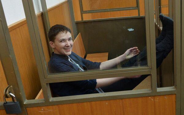 Оглашение приговора Надежде Савченко - Sputnik Беларусь