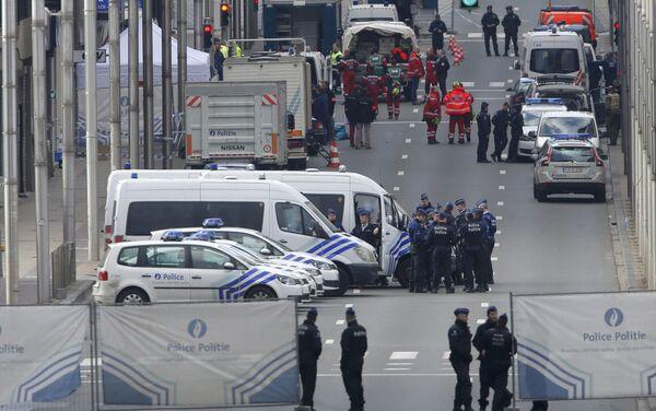 Брюссель после теракта 22 марта - Sputnik Беларусь