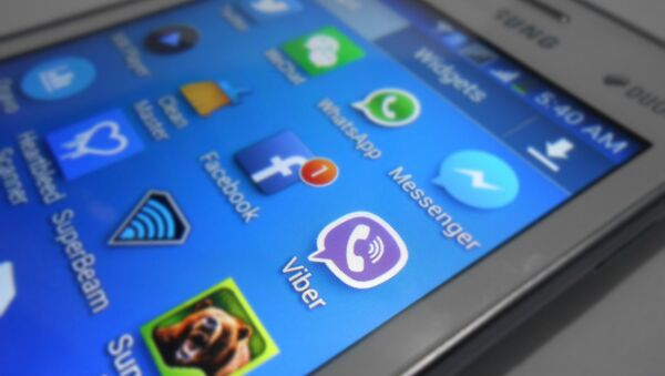 Приложение Viber на смартфоне - Sputnik Беларусь
