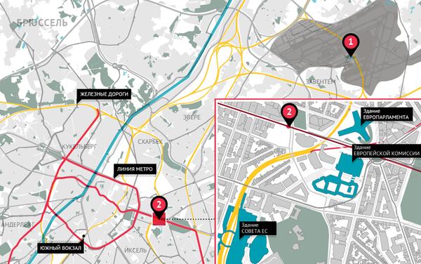 Серия взрывов в аэропорту и метро Брюсселя - Sputnik Беларусь