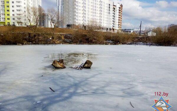 Праталіна на рацэ Мышка - Sputnik Беларусь