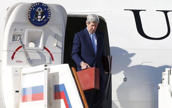 Госсекретарь США Джон Керри - Sputnik Беларусь