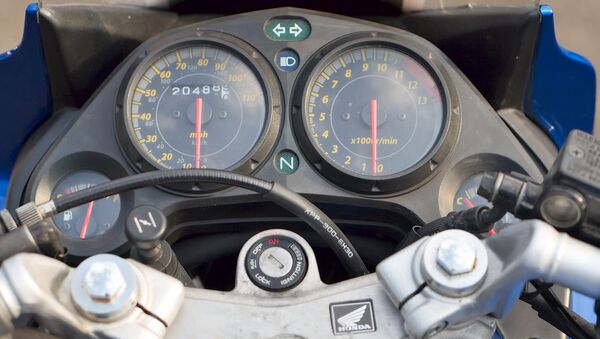 Спидометр мотоцикла - Sputnik Беларусь