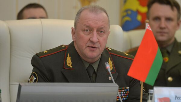 Начальник Генштаба вооруженных сил Беларуси генерал-майор Олег Белоконев. - Sputnik Беларусь