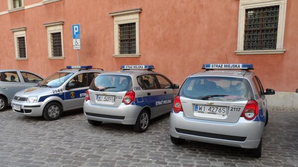 Автомобили польской полиции. Архивное фото - Sputnik Беларусь