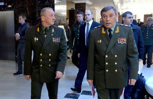Начальник генерального штаба вооруженных сил России — первый заместитель министра обороны России генерала армии Валерий Герасимов - Sputnik Беларусь
