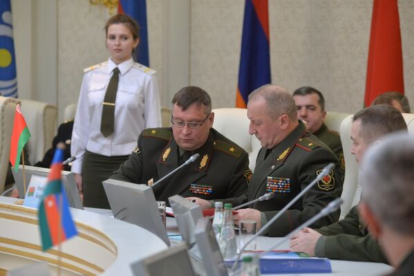 Участники заседания Комитета начальников штабов вооруженных сил - Sputnik Беларусь