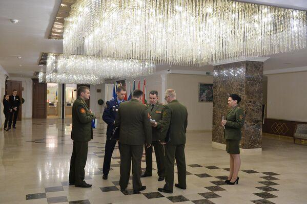 В кулуарах заседания Комитета начальников штабов вооруженных сил государств-участников СНГ - Sputnik Беларусь