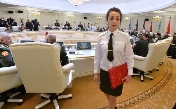 Заседание Комитет начальников штабов вооруженных сил государств - участников СНГ - Sputnik Беларусь