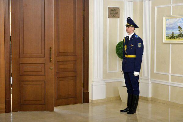 Перед залом заседания начштабов СНГ - Sputnik Беларусь