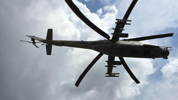 Ударный вертолет МИ-24 - Sputnik Беларусь