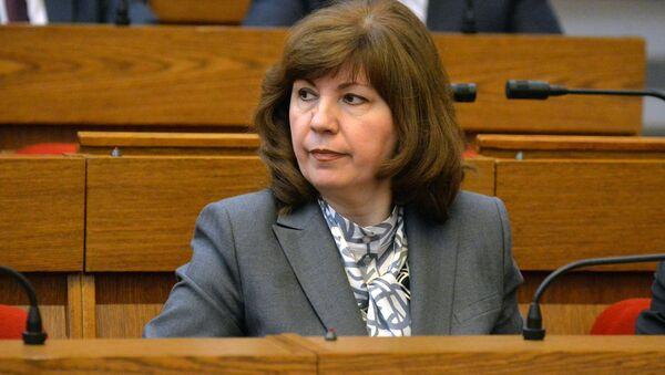 Вице-премьер правительства Беларуси Наталья Кочанова - Sputnik Беларусь